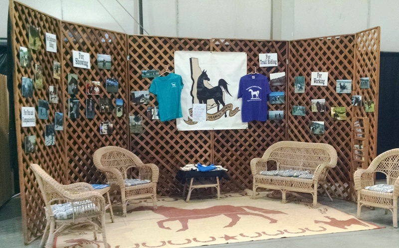 Des Arab booth